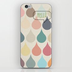Hello Drops iPhone & iPod Skin