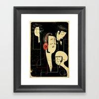 乐 Music Lovers Framed Art Print