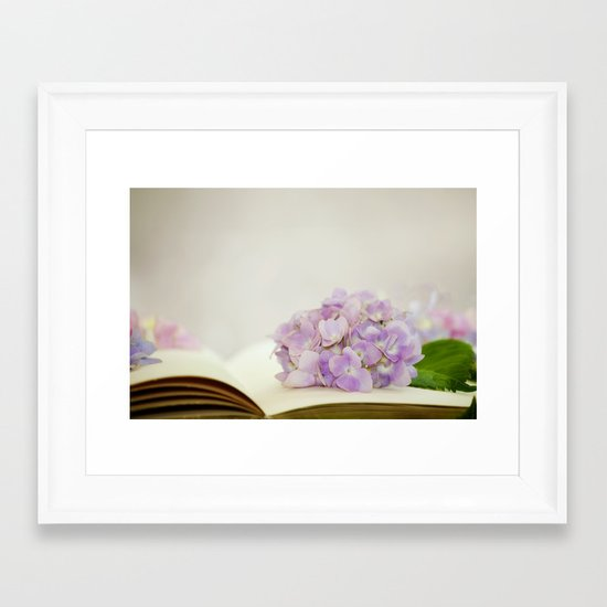 Every Flower Tells A Story Framed Art Print