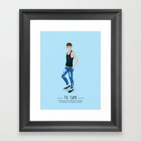 The Twink - A Poster Gui… Framed Art Print
