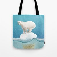 Polar Ice Cream Cap Tote Bag