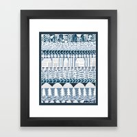 Rows And Rows Framed Art Print