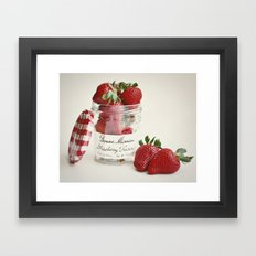 Extra Berry Framed Art Print