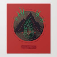 Mountain of Madness Canvas Print
