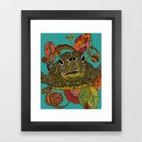 Toitle Framed Art Print