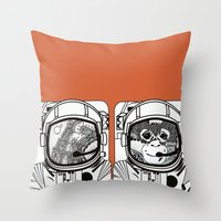 Searching For Human Empa… Throw Pillow
