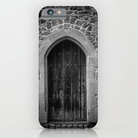 iPhone Cases featuring A Doorway Awaits at Leeds Castle by Carncross Photography