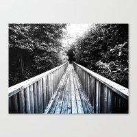 Canvas Print featuring Onward by SmallIslandInTheSun