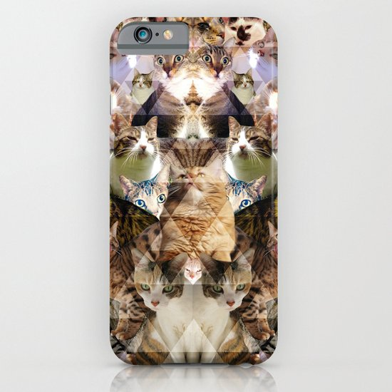 Cat Kaleidoscope iPhone & iPod Case