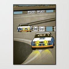 Capri at Le Mans Canvas Print