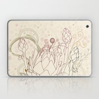 Peach And Purple  Artich… Laptop & iPad Skin