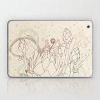 Peach And Purple  Artich… Laptop & iPad Skin