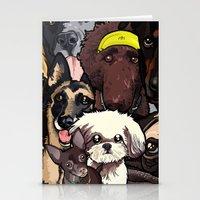 Dogs. Stationery Cards