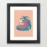 Beautiful Horse Framed Art Print