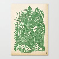 - green hope - Canvas Print