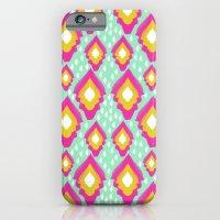 Neon Boho IKat Pattern iPhone 6 Slim Case