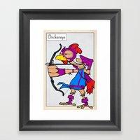 CHICKENEYE - FAN ART AVE… Framed Art Print