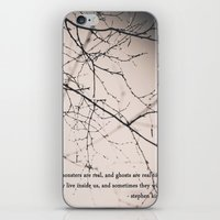 monsters + ghosts iPhone & iPod Skin