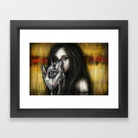 Beneath Framed Art Print