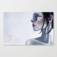 Eyewear Fashion Victim Canvas Print