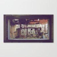 Canvas Print featuring Break Room by Jennifer DuMars