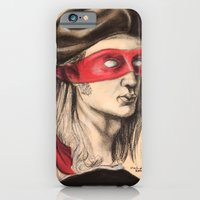 iPhone & iPod Case featuring Raph TMNT by Rachel M. Loose