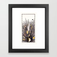 Traumatic cityscape Framed Art Print