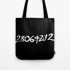 28 days 6 hours 42 minutes 12 seconds. Tote Bag