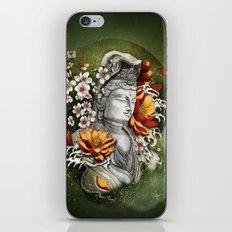 As a lotus iPhone & iPod Skin