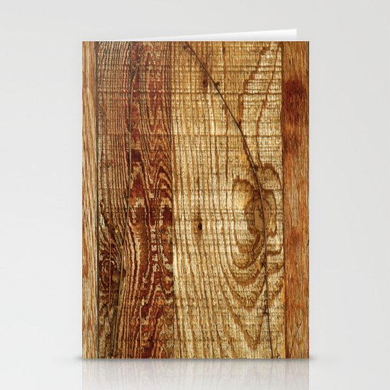 Wood Photography Stationery Card