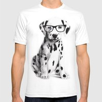 Bingo Mens Fitted Tee White SMALL