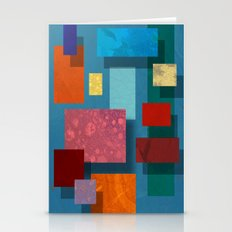 Abstract #324 Stationery Cards