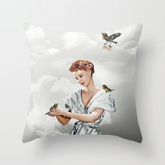 Third Beat IV Throw Pillow