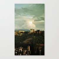 Up on the Hill  II Canvas Print