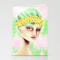 Flowers That Bloom Stationery Cards