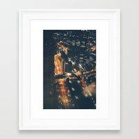 Streamed Framed Art Print