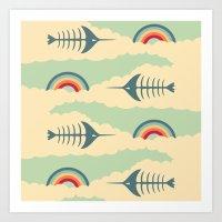 bittersweet pattern Art Print