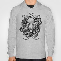 Octupus And COral (Black… Hoody