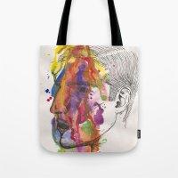 Breathe In Colour Tote Bag