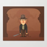 Indy Canvas Print