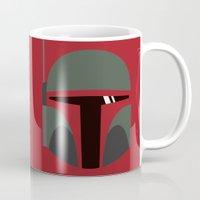 Star Wars Minimalism - Boba Fett Mug