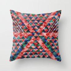 Colores Loco Throw Pillow