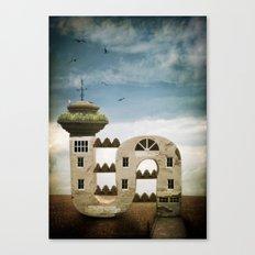 Seaside Living Canvas Print