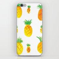 Pineapple Goodness iPhone & iPod Skin