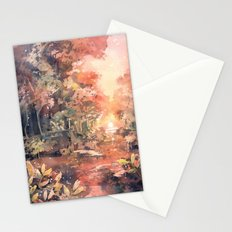 Sunset Forest Stationery Cards