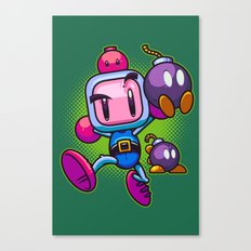 Bombs Away Canvas Print