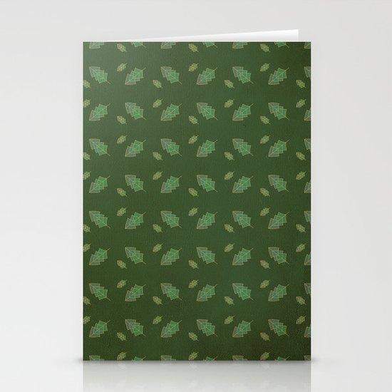leaf pattern Stationery Card