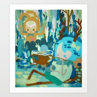 Forest Normal Art Print