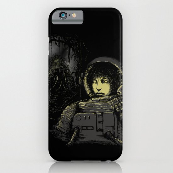 Space Horror iPhone & iPod Case