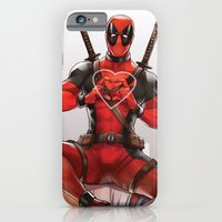 iPhone Cases featuring Deadpool by Drag Me To Work
